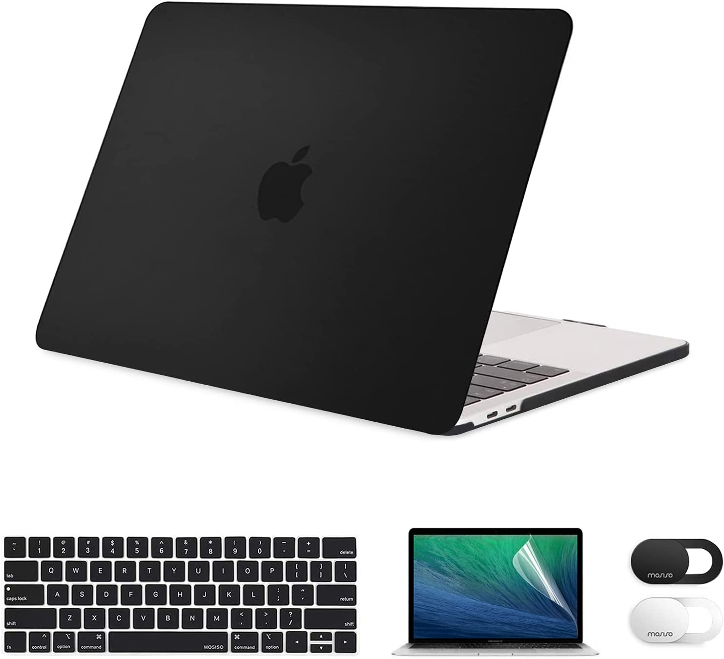 MOSISO Compatible with MacBook Pro 13 inch Case 2016-2021 ...