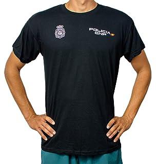 CNP Camiseta policia Nacional Tejido Tecnico para Entrenamiento ... f972867ea688a