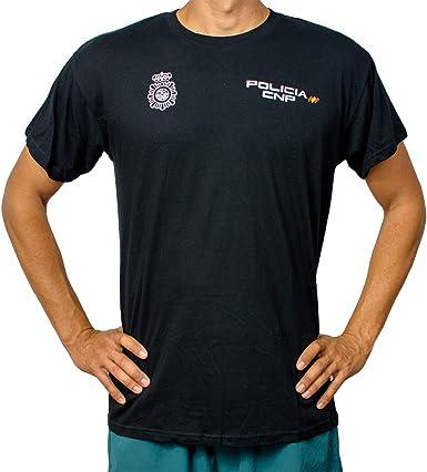 Alpimara Camiseta Policía Nacional 100% Algodon Niño: Amazon.es ...
