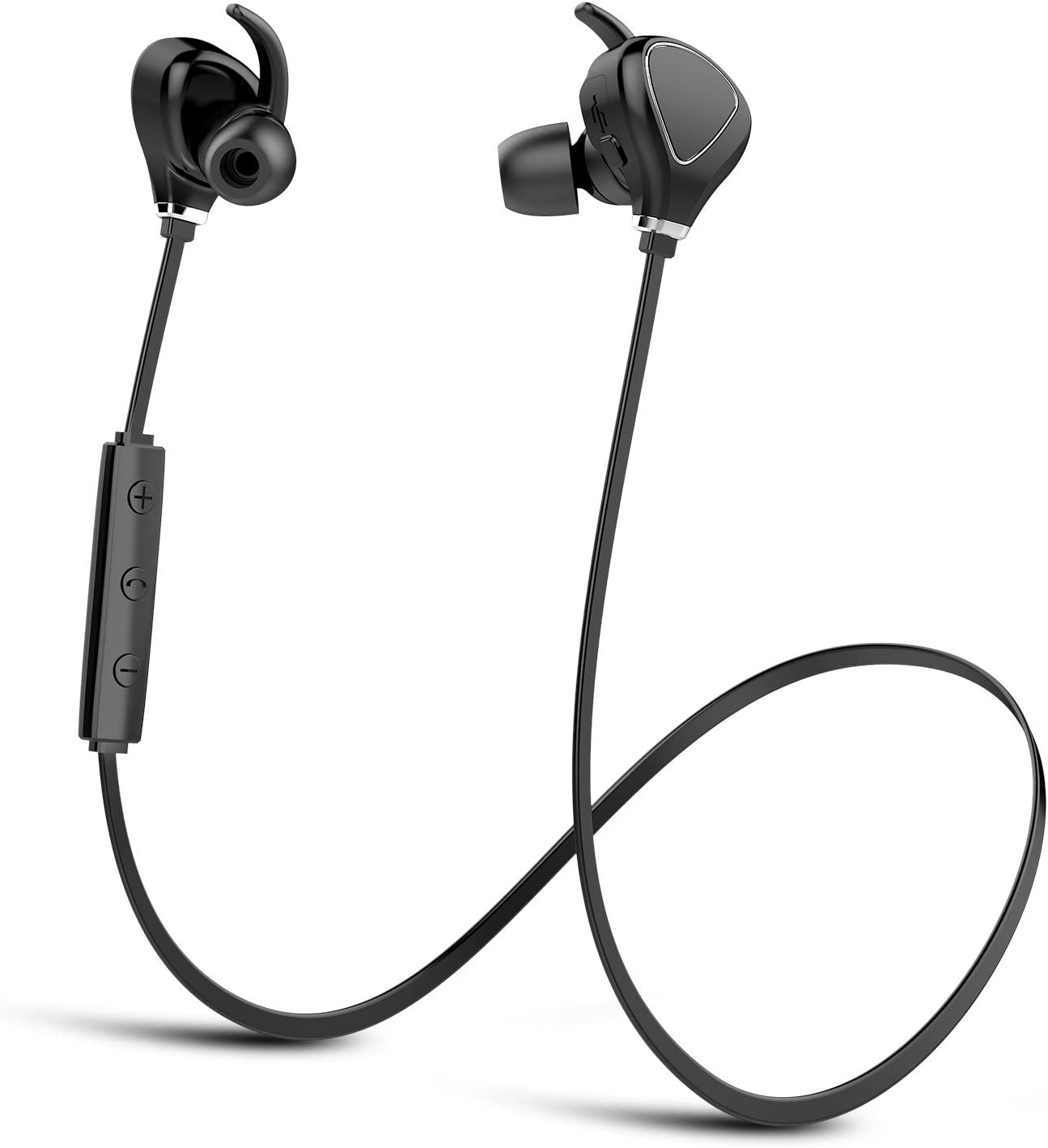 Amazon Com Bluetooth Headphones Running Headphones Compatible With Iphone Kbtel Best Wireless Sports Earphones W Mic Ipx4 Waterproof For Running Gym Workout 12 Hours Battery Life Black Home Audio Theater