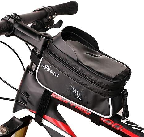 Bolsa Marco Bicicleta Bolsa Movil Bici con Pantalla Táctil para ...
