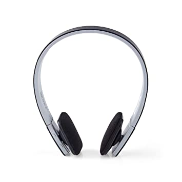 Wireless Earbud Headset Microphone Blue Bluetooth Headset 8-Hrs Playing Time Bluetooth Earpiece Car Bluetooth Headphones Cell Phone