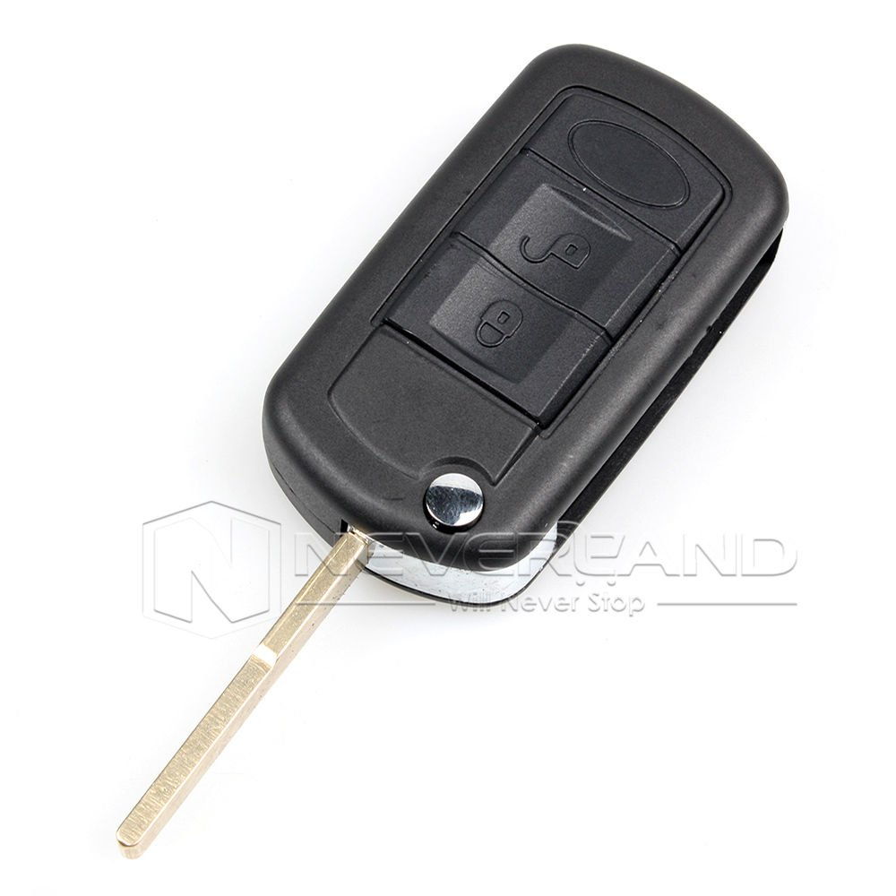 Aridox2015 Flip Car Key Shell Case for Range Sport LR3 Discovery Case Fob 3 Buttons24C20