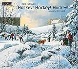 Hockey Hockey Hockey 2018 Calendar: Bonus Free Download 12 Feat;ured Images of Calendar
