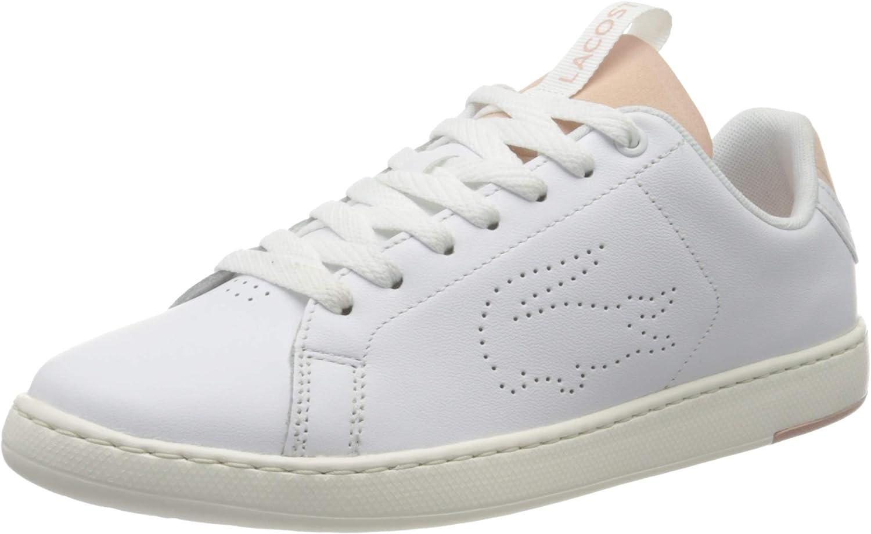 Lacoste 739SFA001283J_35,5, Zapatillas Mujer, Blanco, Rosa y Blanco, 35.5 EU