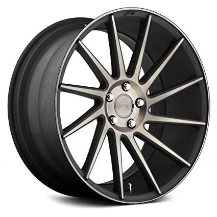 Niche Road Wheels >> Amazon Com Niche Road Wheels 19x8 5 Surge 5x120 Mb 35 72 6
