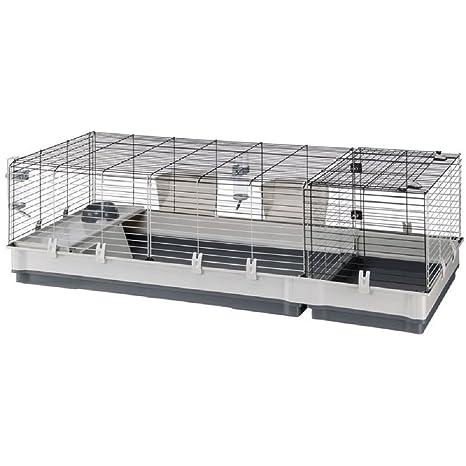 Jaula para Conejos pequeños zona Pet de Anidado Conejillos de ...