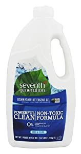 Seventh Generation, Dishwasher Gel Free and Clear, 42 Ounce