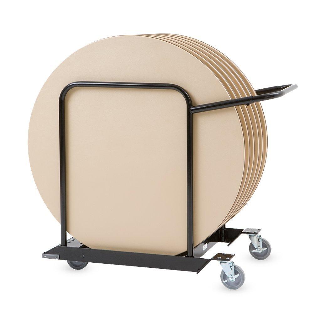 MityLite Round Table Cart -Narrow