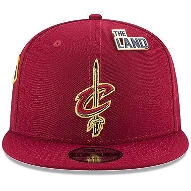 576482d42e52d New Era Cleveland Cavaliers 2018 NBA Draft Cap 9FIFTY Snapback Adjustable  Hat- Wine