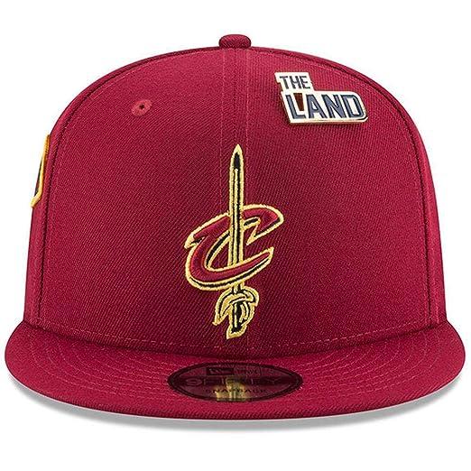 New Era Cleveland Cavaliers 2018 NBA Draft Cap 9FIFTY Snapback Adjustable  Hat- Wine 9b698139a541