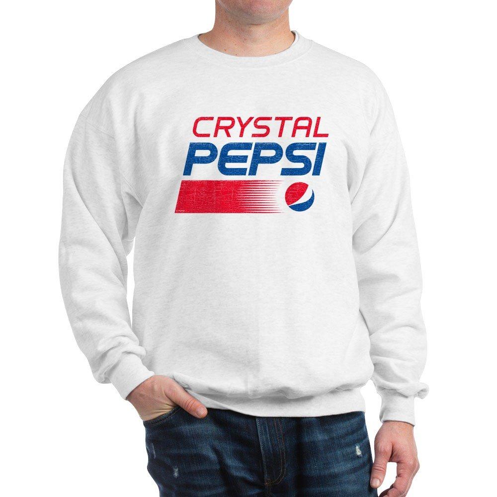 CafePress - Crystal Pepsi Vintage - Classic Crew Neck Sweatshirt