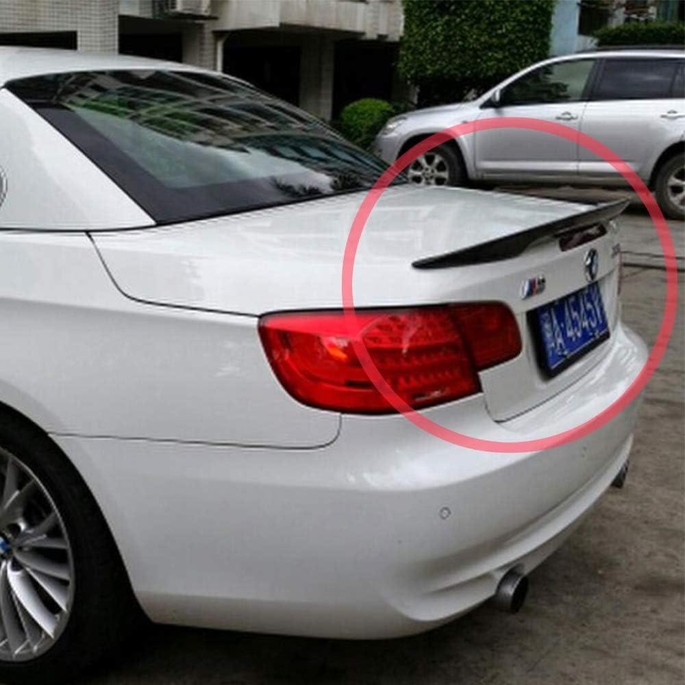 POUR BMW e93 voiture pièces Spoiler Heckspoiler Verni Noir Aile Hayon Bord