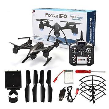 Tik Drone 4 CH 6 Axis GPS/WiFi con cámara HD RC Quadcopter Una ...