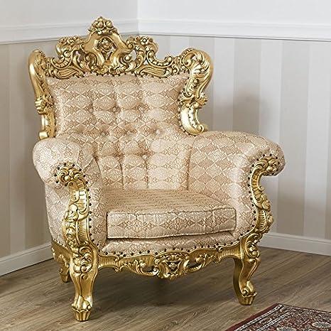 Simone Guarracino Poltrona Boutique trono stile Barocco Francese ...
