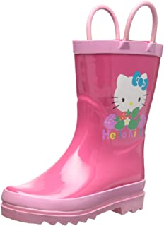 Amazon.com | Western Chief Kids Girls' Waterproof Easy-On ...