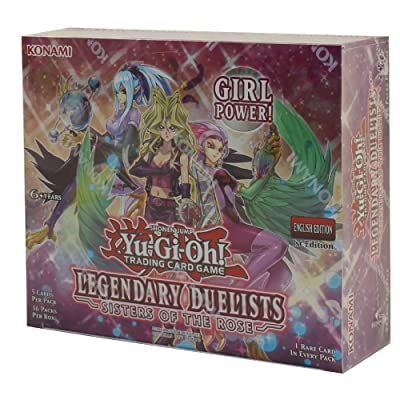 Yu-Gi-Oh! Legendary Duelists TCG: Sisters of The Rose Booster Display (36): Toys & Games
