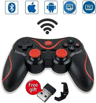 Starcover Mando Inalámbrico para Juegos, 2.4GHz Bluetooth Gamepad ...