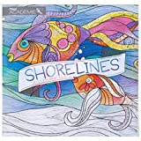 Adult Coloring Book: Pam Varacek Shorelines by Mead Academie, Stress Relief, Sketching, Adult Color Books