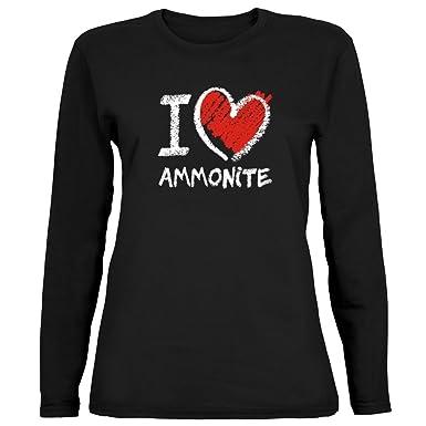 A Da Ammonite Idakoos I Maniche Maglietta Lunghe DonnaAmazon Love l1KTJcF