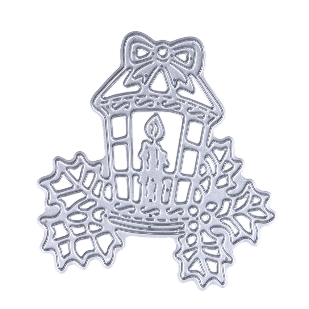 Cutting Die,YESZ DIY Scrapbooking Art Cute Owl Shape Cutting Die Scrapbooking Emboss Paper Card Craft DIY Stencil Mold Silver