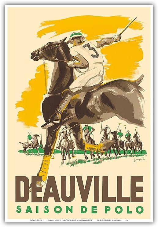 Pacifica Island Art Deauville Saison De Polo (Polo Temporada ...