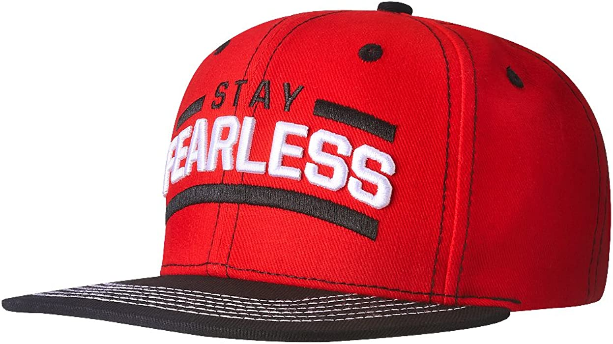 0ffbce4282f Nikki bella stay fearless black brim snapback wwe baseball cap hat back  double tap to zoom