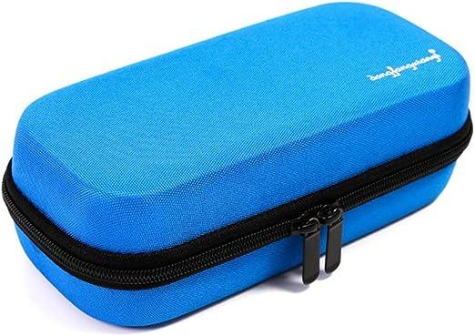 Estuche portátil para refrigeradores de insulina - Medicamentos Insulina Bolsa de viaje enfriador Pastillero Insulina Pluma y suministros para la diabetes con 3 bolsas de hielo más frías-blue: Amazon.es: Hogar