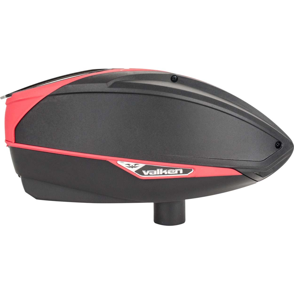 Valken Paintball VSL Tournament Electronic Loader - Black/Red by Valken