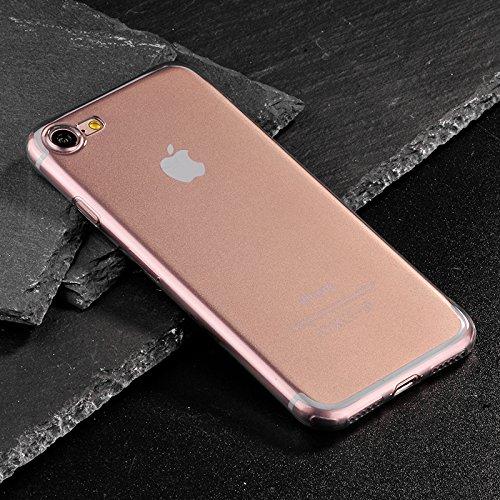 iPhone 7 Plus Coque HOCO Pinhen i7 Plus Liquid Crystal Ultra-Thin Cover Case Coque Housse Etui Shock-Absorption Bumper TPU Silicone pour Apple iPhone 7 Plus 5.5 Inch (i7 Plus Black)