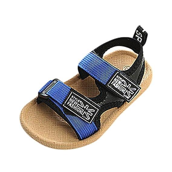 Sandalias de niño, ❤ Manadlian Bebé Niños Moda Zapatillas Niños Chicos Niñas Verano Sandalias Casuales Zapatos: Amazon.es: Ropa y accesorios