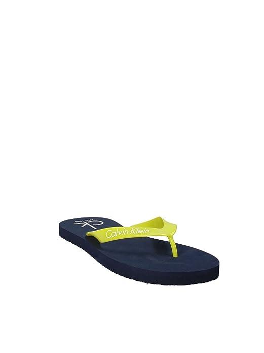 3e1e017f6736fa CALVIN KLEIN JEANS MEN S SLIPPERS SANDALS KM0KM00205 41 42 blue   Amazon.co.uk  Shoes   Bags