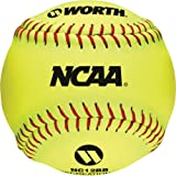 Worth NC12BB 12-Inch Protac NCAA Outdoor Training Ball (Pack of 12)