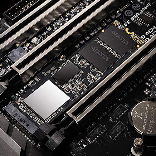 XPG SX8200 Pro 1TB 3D NAND NVMe Gen3x4 PCIe M.2 2280 Solid State Drive R/W 3500/3000MB/s SSD (ASX8200PNP-1TT-C)