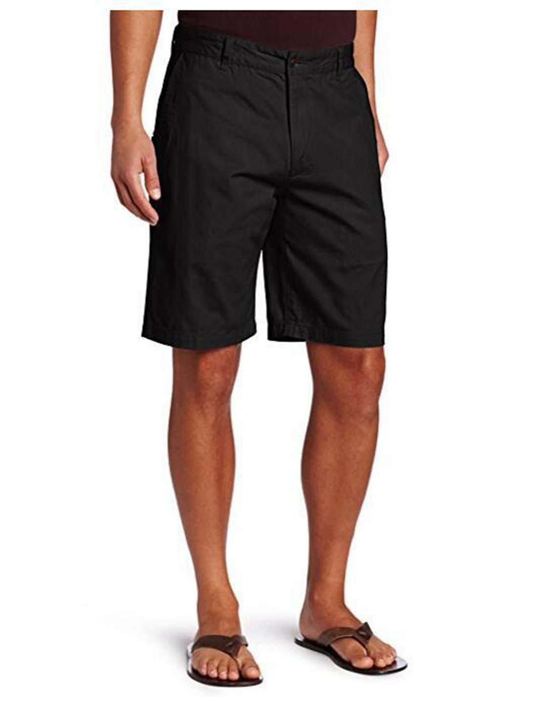 Enfei Men's Lightweight Sport Casual Classic Fit Summer Wear Shorts with Pockets