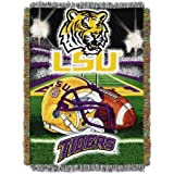 Northwest LSU Tigers 48'' x 60'' Tapestry Throw Blanket - Home Field Advantage Series