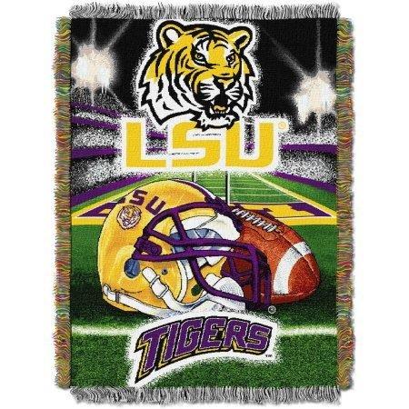 Northwest LSU Tigers 48'' x 60'' Tapestry Throw Blanket - Home Field Advantage Series by Northwest