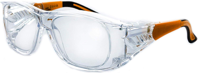 Varionet Safety VHP10 VH10 Pro 200 - Gafas de protección visual, transparente y naranja, 2.00