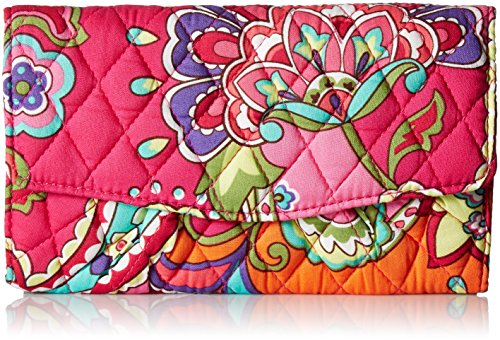 Bradley Pink Vera Strap Swirls Wallet zOSdxR