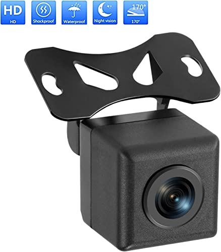 Car Backup Camera Rilitor Rear View Parking Reverse Camera with HD CMOS 170 Angle IP67 Waterproof Night Vision Reversing Cameras for Cars Truck SUV RVs