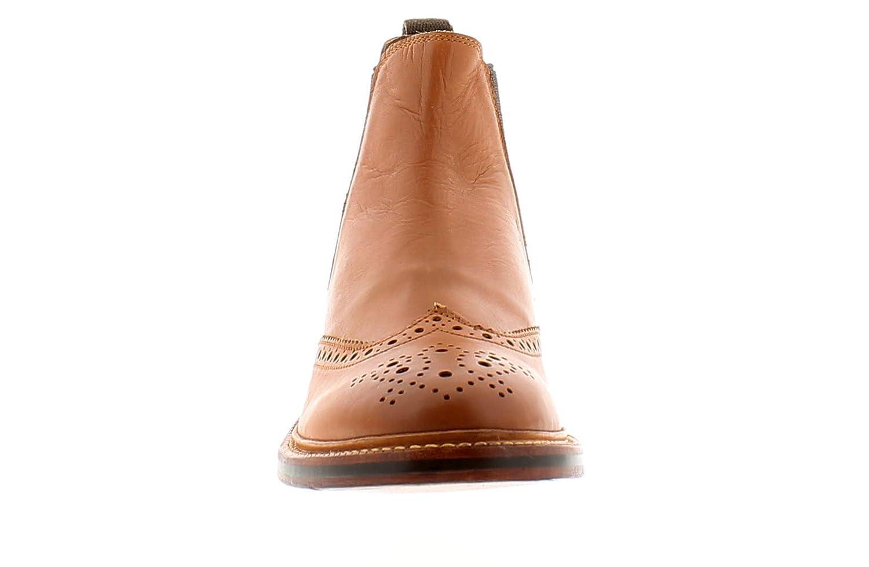 48426c92324 Wynsors Alton Mens Leather Formal Boots Tan - Tan - UK Sizes 7-12