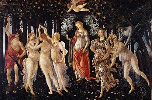 Primavera – Sandro Botticelli。アートプリントポスター 18