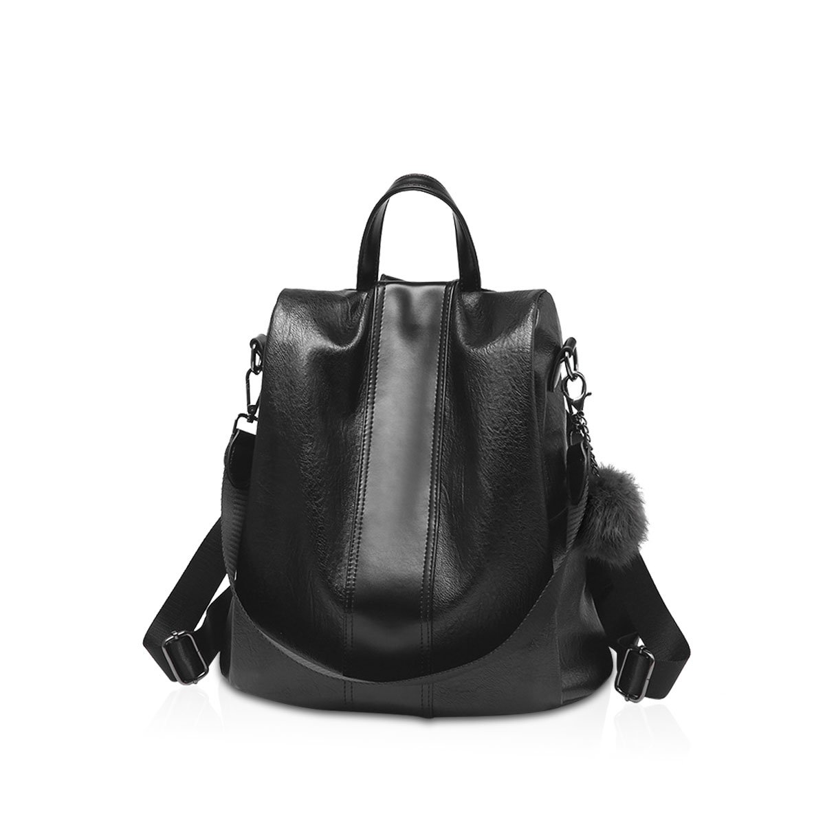 NICOLE & DORIS New Woman Shoulder Bag Personality Retro Soft Leather Backpack Casual Female Bag ND-VG001