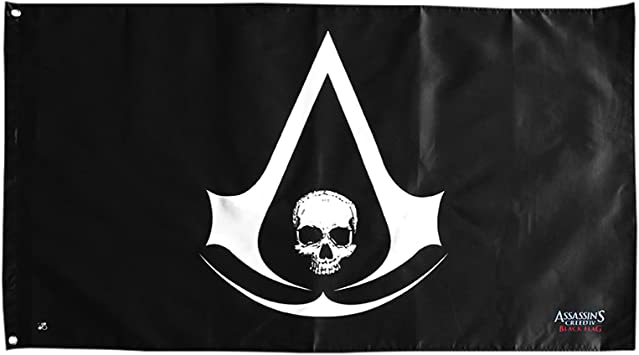 Abystyle Abydct007 Assassin S Creed Iv Black Flag Flagge Skull