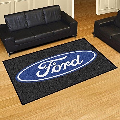 (NASCAR Ford Oval 5 x 8 Rug, 60