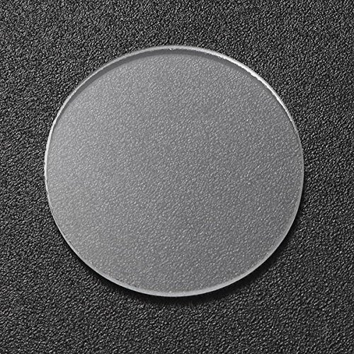 Global 20.5mm x 1.6mm Glass Lente Accesorios de linterna para Convoy S2/S2 + / S3/S6/S8 Linterna [Clase de eficiencia energética A++]