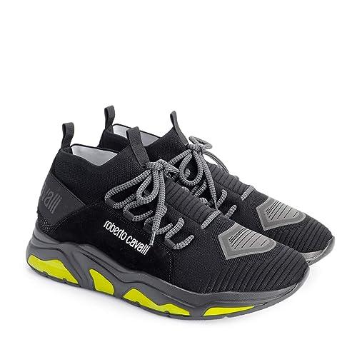 In liquidazione scegli il meglio scarpe da skate Roberto Cavalli Sneaker - 5296C - Size 42 (EU): Amazon.it ...
