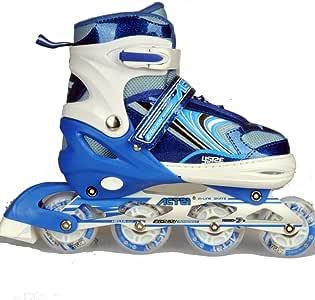 بدلة تزلج للأطفال قابلة للتعديل باللون الأزرق