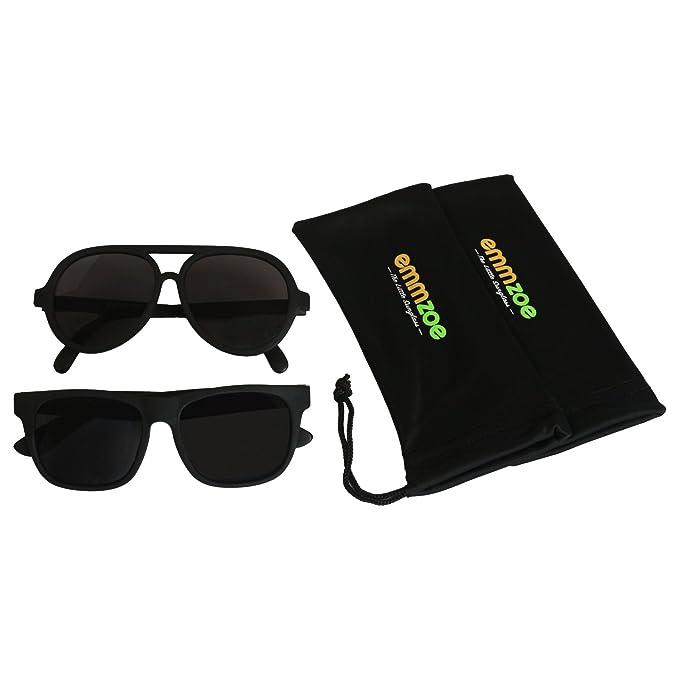 Amazon.com: Emmzoe - Juego de 2 gafas de sol con diseño de ...