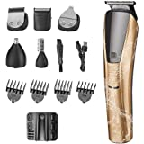 Hair Clippers Beard Trimmers for Men Cordless, All in On Clippers for Hair Cutting Waterproof Barber/Household Grooming…
